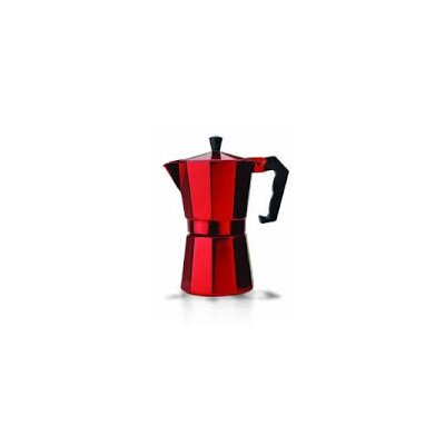 Stovetop Espresso Maker Color: Red PERE3306