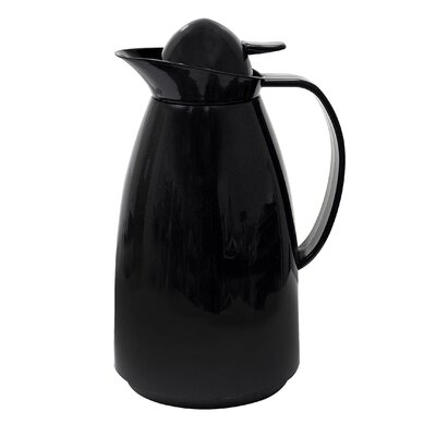 Thermal 4 Cup Carafe with Glass Lining Color: Black PEBK-5210
