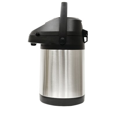 Thermal Double Wall Stainless Steel Lining 10 Cup Pump Pot Dispenser PES-5125