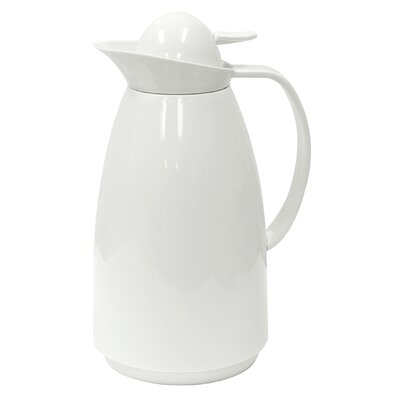 Thermal 4 Cup Carafe with Glass Lining Color: White PEWH-5210