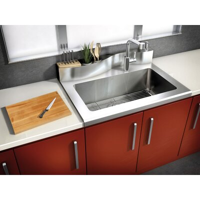 Classic 36' x 26' Worktop Stainless Steel Single Bowl Kitchen Sink