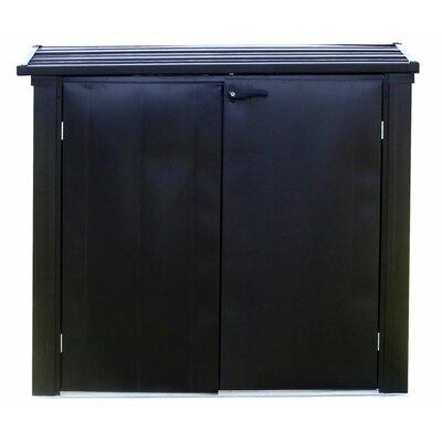Versa Shed Locking 5 ft. W x 3 ft. D Metal Horizontal Garbage Shed EVRS53
