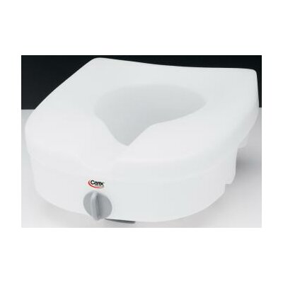 E-Z Lock Raised Toilet Seat without Handles
