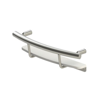 Invisia� Shampoo Shelf Finish: Brushed Stainless Steel