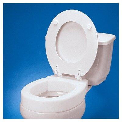 Standard Hinged Raised Toilet Seat Extension