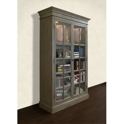 French Restoration Lighted Display Stand Color: Brushed Grey