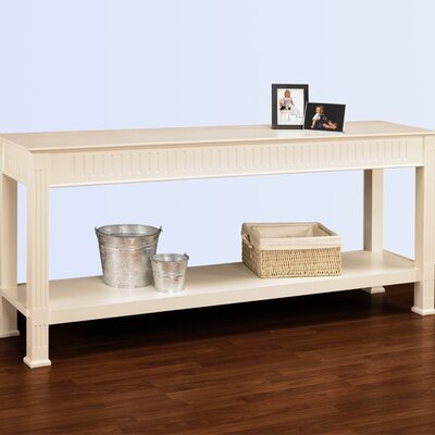 Cheap A&E Wood Designs AEW1078Hampton Sofa Table in Pearl White (AEW1077)