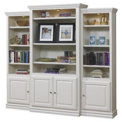 A&E Wood Designs French Restoration Kamran Oversized Set Bookcase