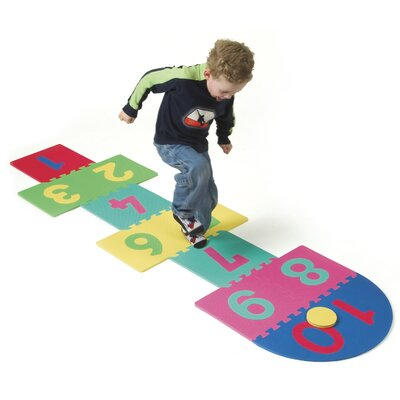 WonderFoam Hopscotch Mat