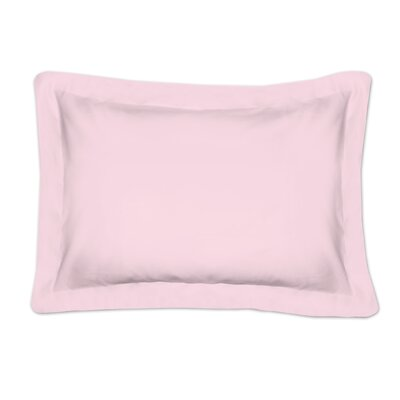 Auclair Tailored Sham Color: Pink