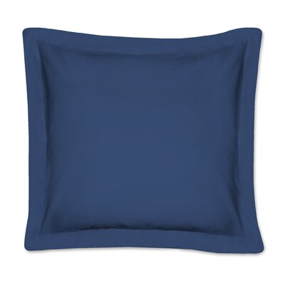 Fresh Ideas Tailored Euro Sham Color: Navy