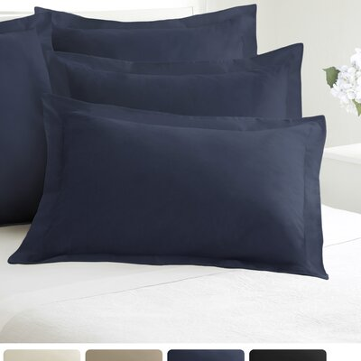 Tailored Sham Size: King, Color: Navy