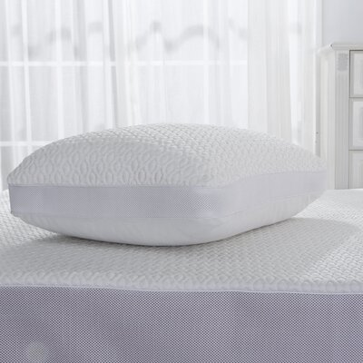 DreamLab Cooling Jacquard Pillow Protector with Mesh