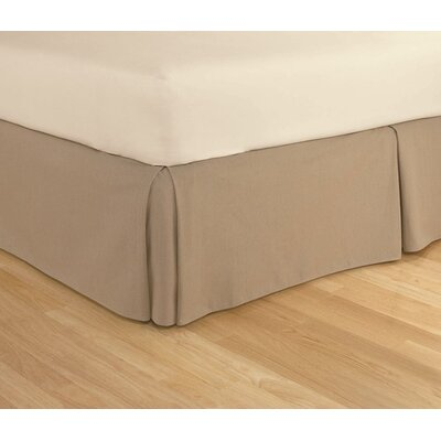 Tailored Cotton Rich Bed Skirt