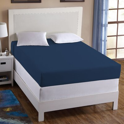 Wonder Sheet Size: Full, Color: Navy