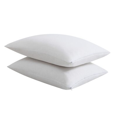 Cotton Blend Pillow Protector Size: Queen
