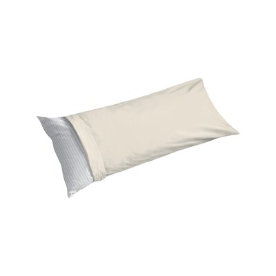Cotton Sateen Body Pillowcase Color: Ivory