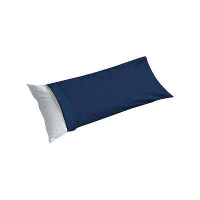Cotton Sateen Body Pillowcase Color: Navy