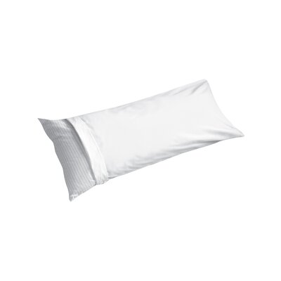 Cotton Sateen Body Pillowcase Color: White