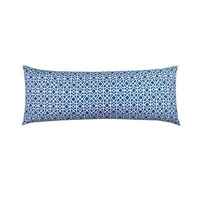 Print Body Pillowcase Color: Navy