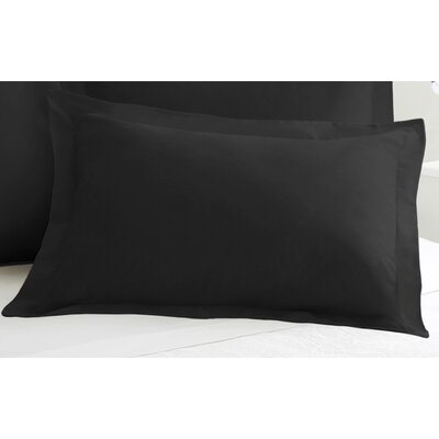 Tailored Sham Size: King, Color: Black