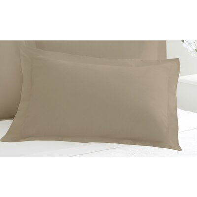 Tailored Sham Size: King, Color: Mocha