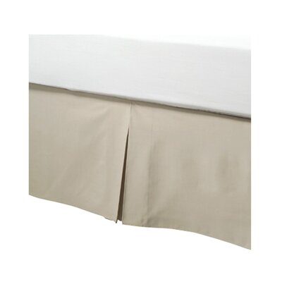 Tailored Bed Skirt in Mocha