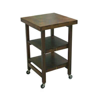 Kitchen Cart Finish: Walnut