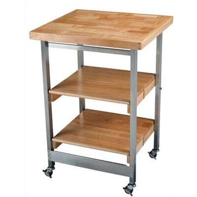 Financing All Purpose Folding Kitchen Cart wi...