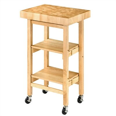 Buy Low Price Oasis Concepts Folding Kitchen Cart