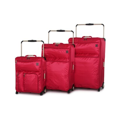 it luggage IT-0-1 Second Generation 3 Piece Luggage Set - Color: Red at Sears.com