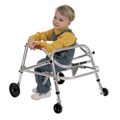 Kaye Products Child's Wallker with Seat - Wheels/Swivel: 4 Wheels / Non-swivel at Sears.com