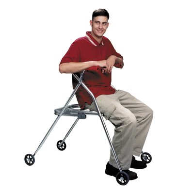 Kaye Products Wallker with Built in Seat - Wheels/Seat/Swivel: 4 Wheels / Built-in Seat / Non-swivel at Sears.com