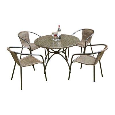 grau-rattan-polyrattan- Gartenmöbel-Set online kaufen   Möbel ...