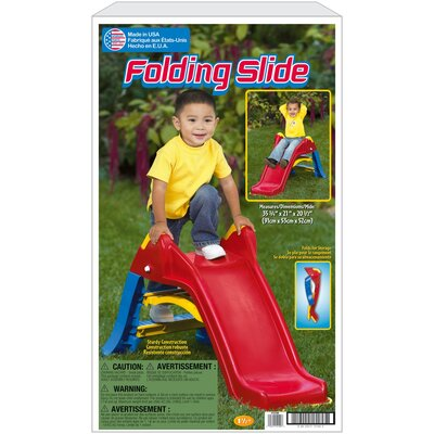 American Plastic Toys Folding Slide at Sears.com