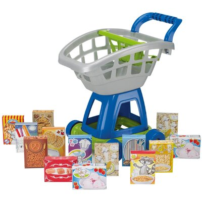 American Plastic Toys 15 Piece Deluxe Shopping Cart with Play Food at Sears.com