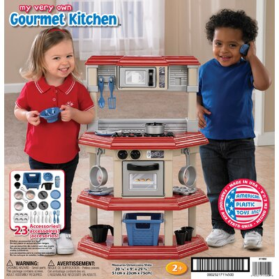 Plan Toys Large Scale Cooking Utensils Set | Wayfair