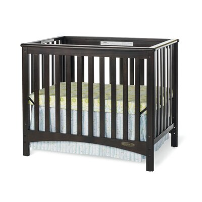London Euro Mini 2-in-1 Convertible Crib Finish: Jamocha F50001.07