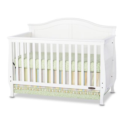 Camden 4-in-1 Convertible Crib Finish: White F31001.46