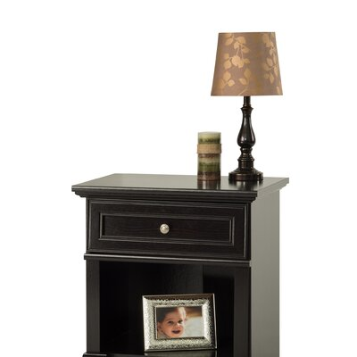 Bradford 1 Drawer Nightstand Color: Rich Java