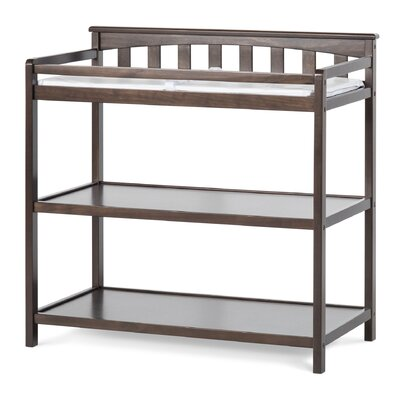 Child Craft Flat Top Changing Table Finish: Slate