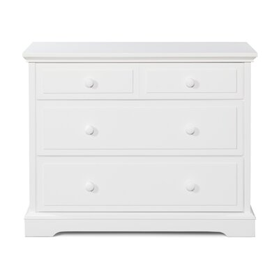 Universal 3 Drawer Dresser Color: Matte White