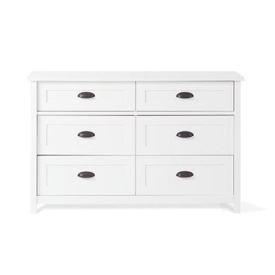 Child Craft Abbott 6 Drawer Double Dresser