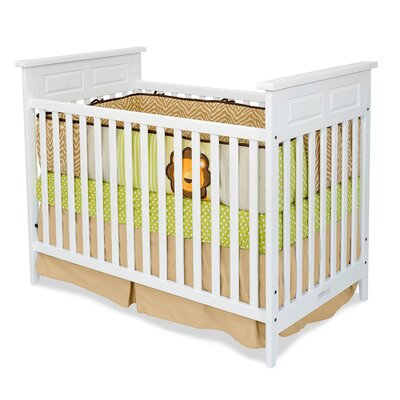 Logan Stationary Convertible Crib Finish: White F14701.46