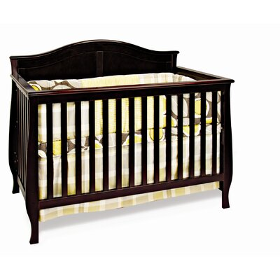 Camden 4-in-1 Convertible Crib Finish: Jamocha F31001.07