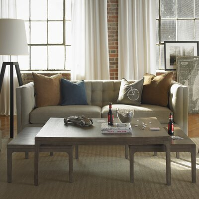Improv 3 Piece Nesting Coffee Table Set Finish: Oak