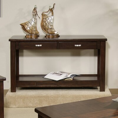 Cheap Somerton Serenity Sofa Table in Burgundy (SOM1111)