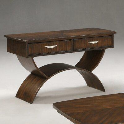 Cheap Somerton Cirque Sofa Table in Merlot (SOM1119)