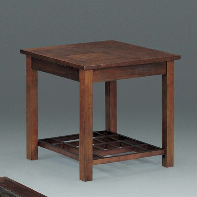 Cheap Somerton Enchantment End Table in Natural Walnut (SOM1156)
