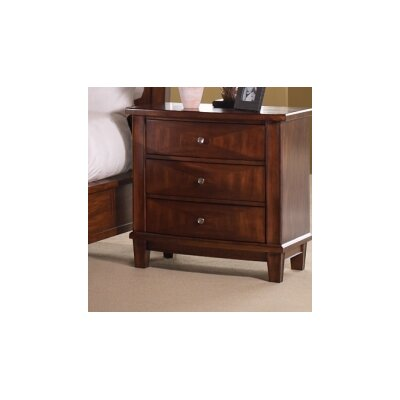 In store financing Runway 3 Drawers Nightstand...